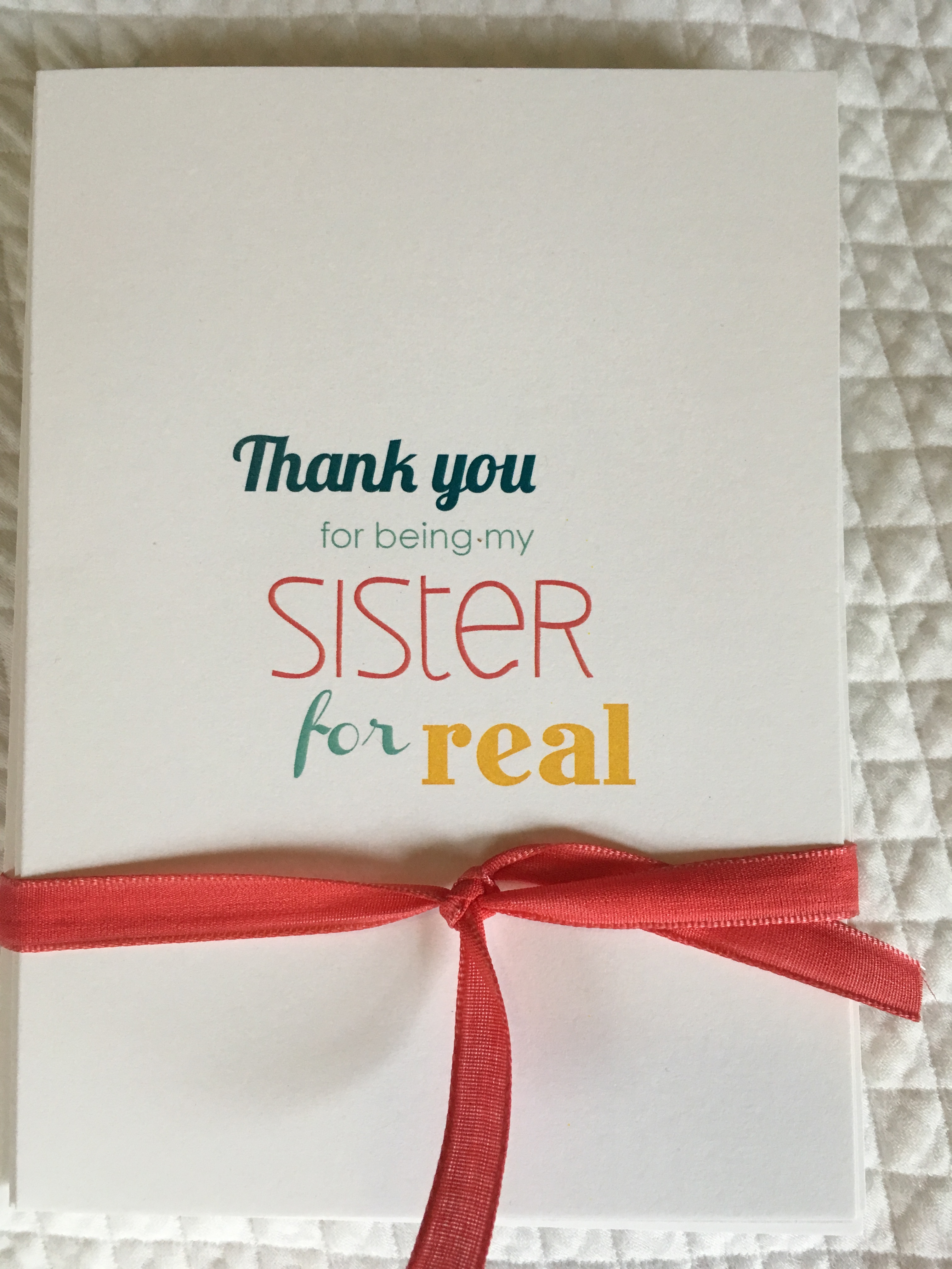 Sisters For Real Card Pack